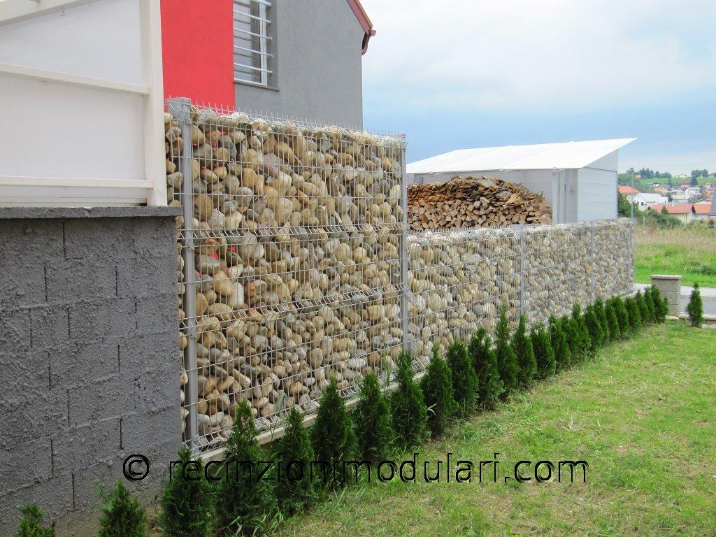 Gabbie zincate per recinzioni in sassi tutte le immagini - Recinti per giardino ...