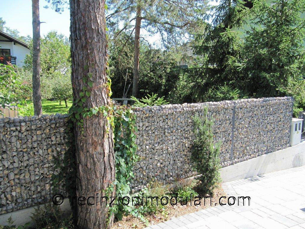 Galleria recinto di pietra stretta recinzioni modulari - Recinti per giardini ...