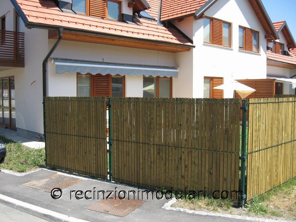 Recinzioni modulari recinzioni modulari - Recinzioni giardino fai da te ...