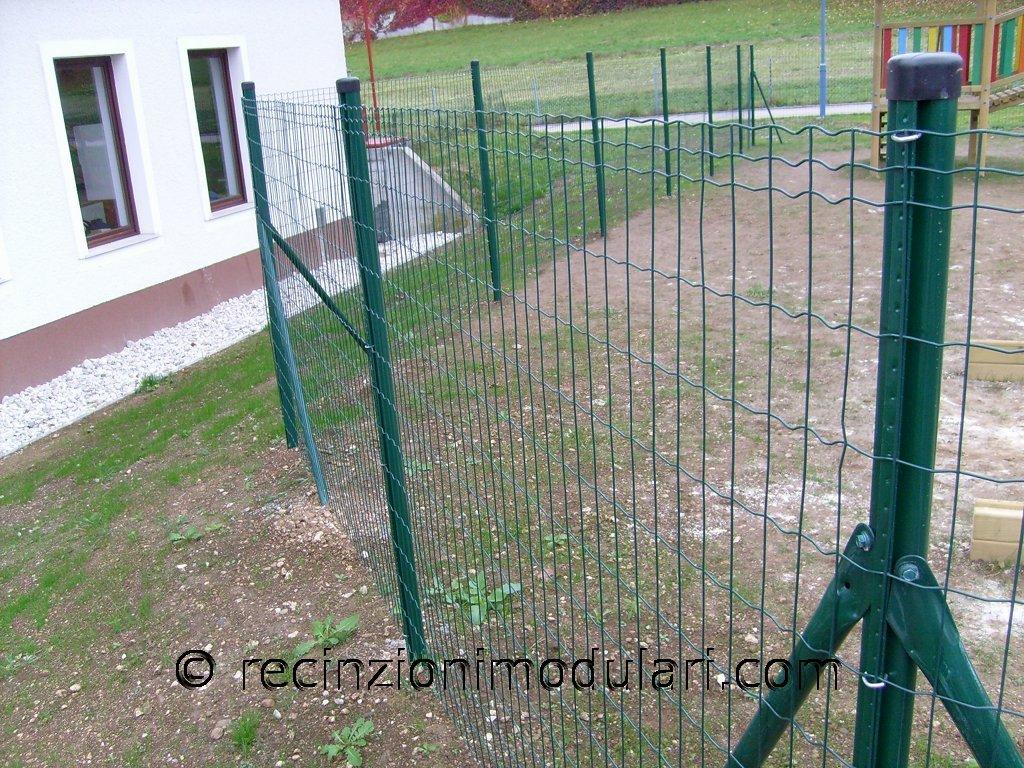 Recinzione del reticolato recinzioni modulari - Recinti per giardino ...