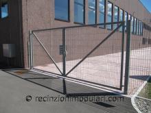 Cancelli a due anti 1 - porta impianti industriali, cancelli e recinzioni