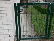 Cancelli ad un'ante 2 - Ingresso personale a casa, riempitura recinzioni